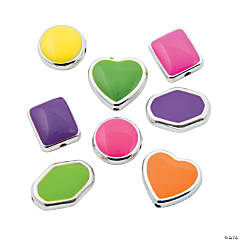 Bright Framed Beads - 13mm - 16mm