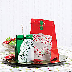 Lace Treat Bags Idea