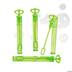 Lime Green Heart Bubble Tubes