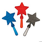 Patriotic Glitter Star Clappers