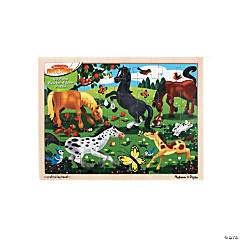 Wooden Jigsaw Puzzles Horse