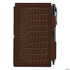 Wellspring Flip Notes Brown Croc