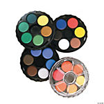 Watercolor Wheel Stack Pack