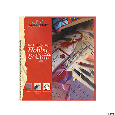 Manuscript Calligraphy Hobby Craft Set Calligraphy