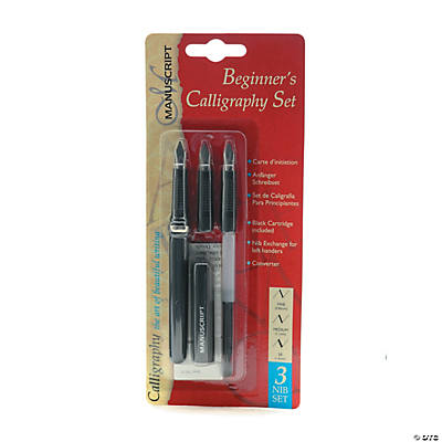 3 Nib Beginners Calligraphy Set Calligraphy Supplies Art