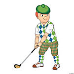Golfer Jointed Cutout