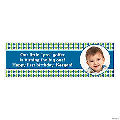 Medium Golf Par-Tee Custom Photo Banner