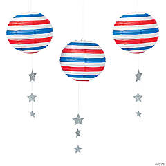 Stars & Stripes Paper Lanterns