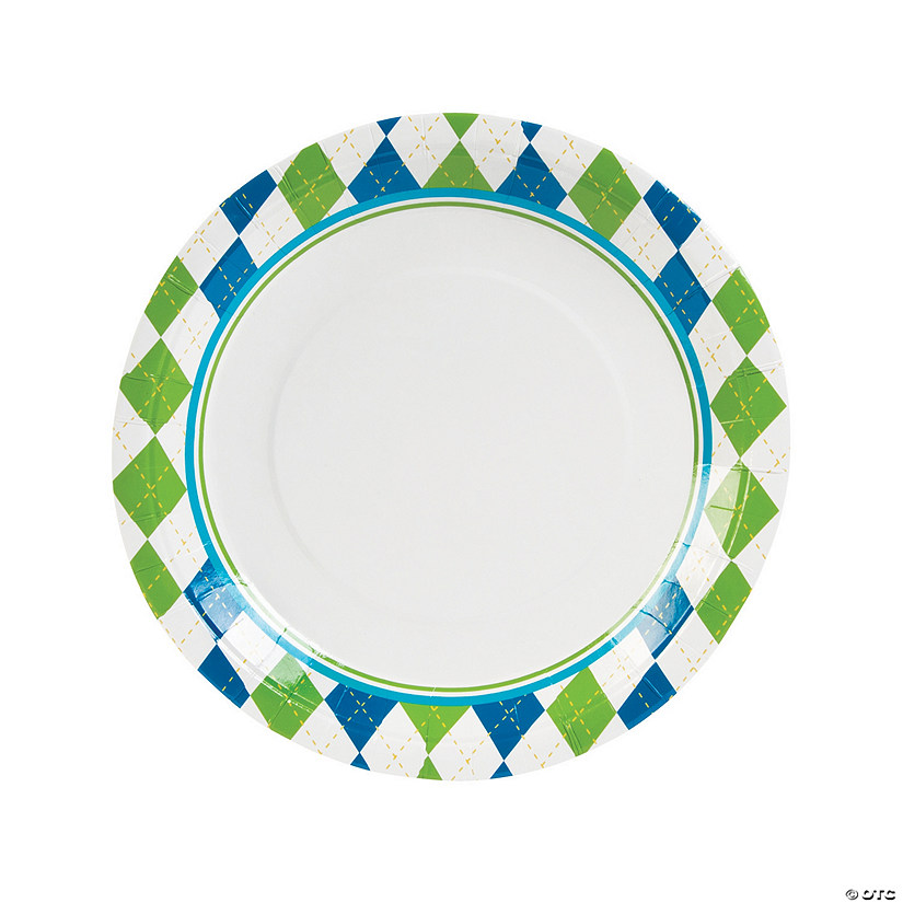 sc 1 st  Oriental Trading & Golf Par-Tee Paper Dinner Plates