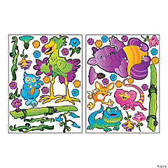 Plastic Design-A-Room Wild Wonders Character Set