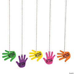 """Handmade By God"" VBS Necklaces"