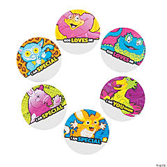 Wild Wonders VBS Name Buttons