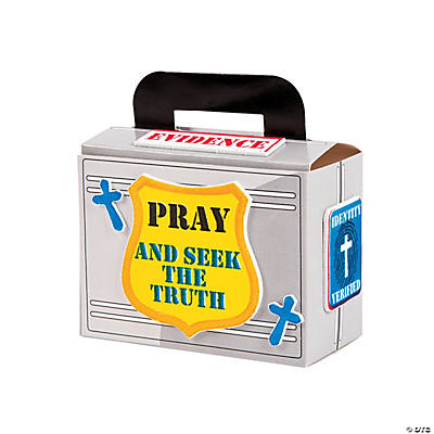 Agents of Truth VBS Prayer Box