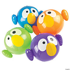 Inflatable Crazy Bird Beach Balls
