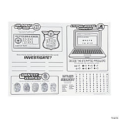 Agents of Truth VBS Activity Mats