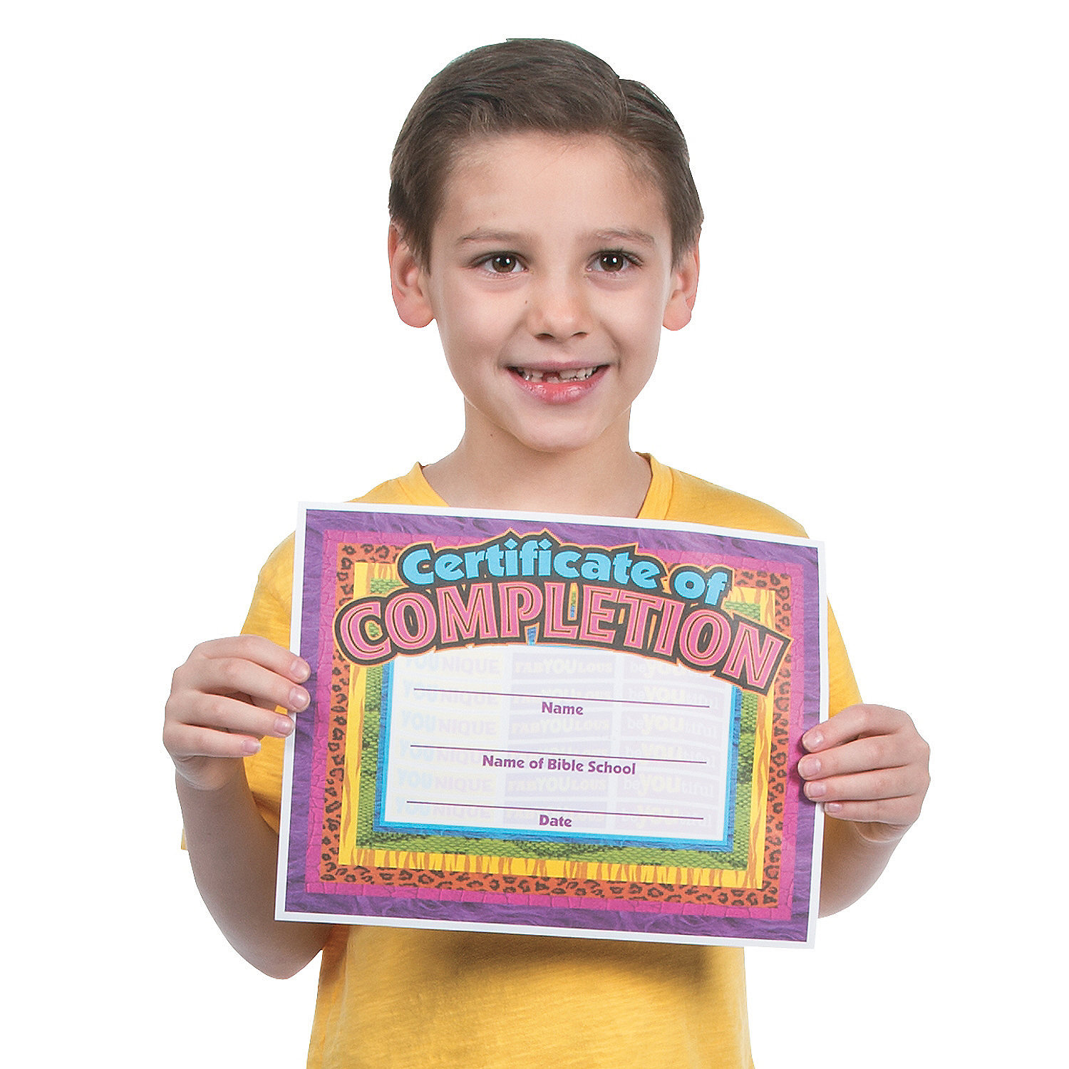 Wild Wonders VBS Completion Certificates, Novelty Awards ...