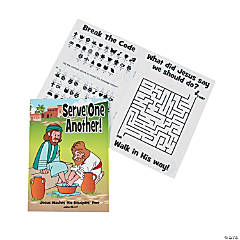 Serve One Another Activity Books