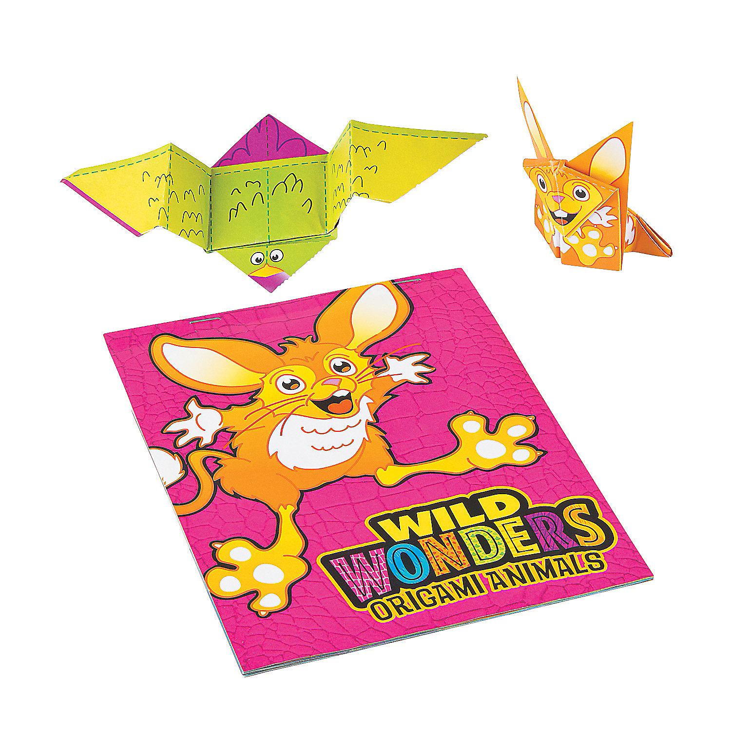 wild wonders vbs origami booklets activity books