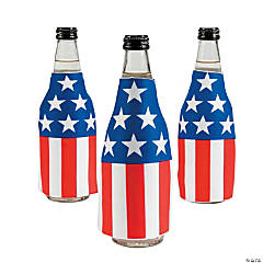 Patriotic Bottle Covers