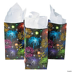 Fireworks Treat Bags