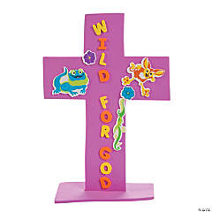 Wild Wonders Stand-Up Cross Craft Kit