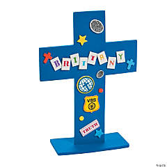 Agents of Truth Stand-Up VBS Cross Craft Kit
