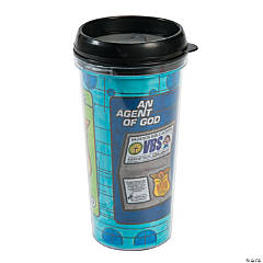 Color Your Own Agents of Truth VBS Travel Mugs