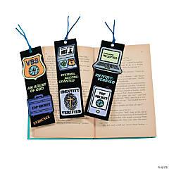 Color Your Own Agents of Truth VBS Bookmarks