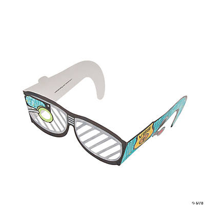 "Color Your Own ""Agents of Truth"" VBS Spy Glasses"