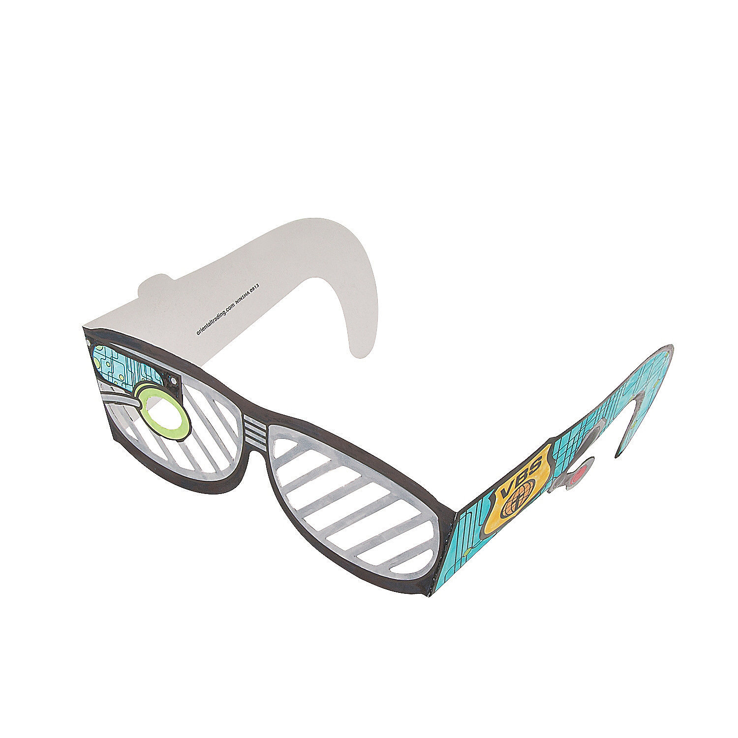 Color your own agents of truth vbs spy glasses coloring for Spy crafts for kids