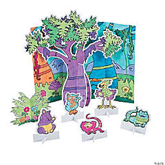 Color Your Own Wild Wonders VBS 3D Jungles