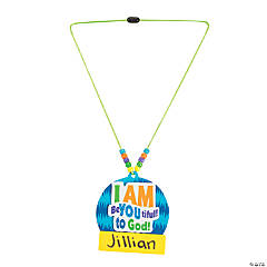 Wild Wonders VBS Name Tag Necklace Craft Kit