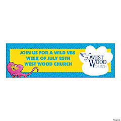 Small Wild Wonders Custom Photo VBS Banner