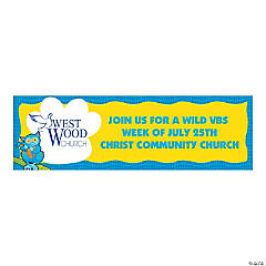 Medium Wild Wonders Custom Photo VBS Banner