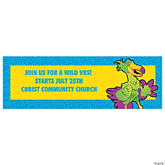 Medium Wild Wonders Personalized VBS Banner