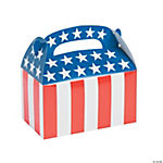 Patriotic Flag Treat Boxes