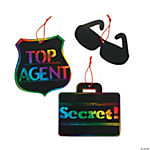 Agents of Truth VBS Magic Color Scratch Ornaments
