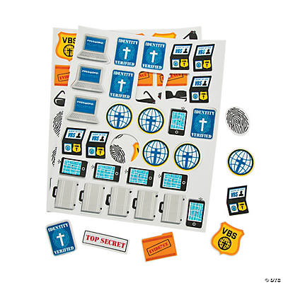 Agents of Truth VBS Self-Adhesive Shapes