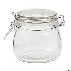 Small Self-Sealing Storage Jars