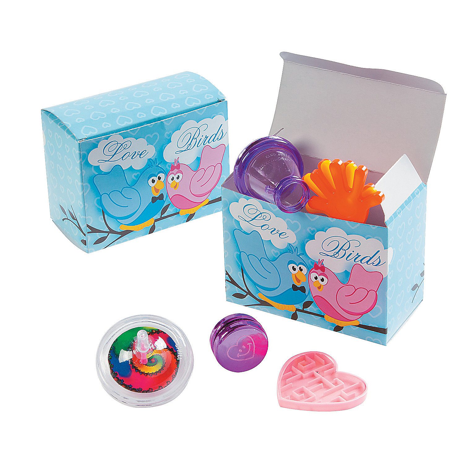 Toys For The Honeymoon : Wedding toy filled favor boxes oriental trading