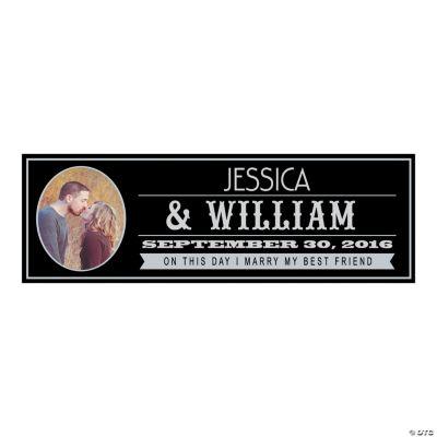 Billboard Wedding Small Custom Photo Banner