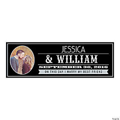 Billboard Wedding Small Custom Photo Banner