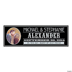 Billboard Wedding Medium Custom Photo Banner
