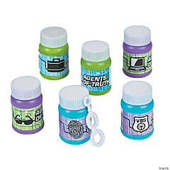 Agents of Truth Mini Bubble Bottles