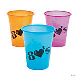 80's Party Disposable Cups