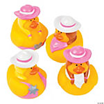Pink Cowgirl Rubber Duckies