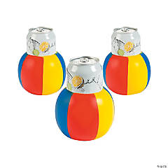 Beach Ball-Shaped Can Covers