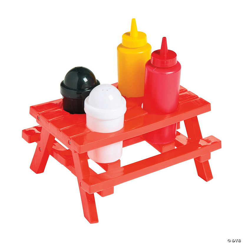 sc 1 st  Oriental Trading & Picnic Table Condiment Set