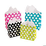 Polka Dot Gift Bag Assortment