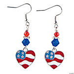Heart Flag Earrings Craft Kit